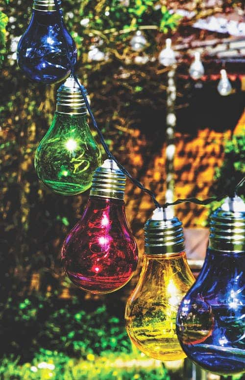 Add colour to a wedding with lighting