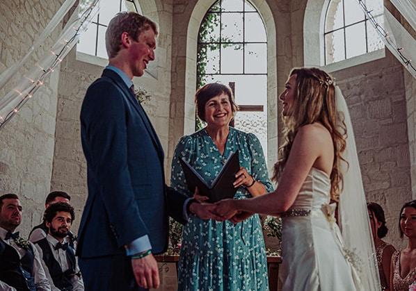 Alicen Dines, wedding celebrant